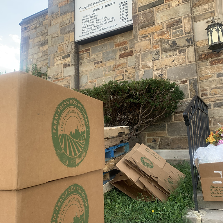 Weekly Food Distribution Volunteer Opportunity (Church)
