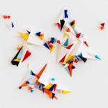 """129-1 / LES PARTICULES ÉLÉMENTAIRES (25cmx25cm-9.5""""x9.5"""") 2020"""