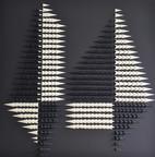 "🔴63 / ARCHITECTURE (76cmx76cm-30""x30"") 2018"