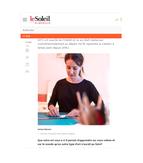 JOURNAL LE SOLEIL / 27 FÉVRIER 2021