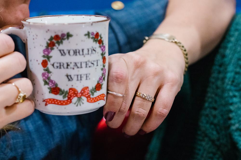 world's greatest wife vintage mug