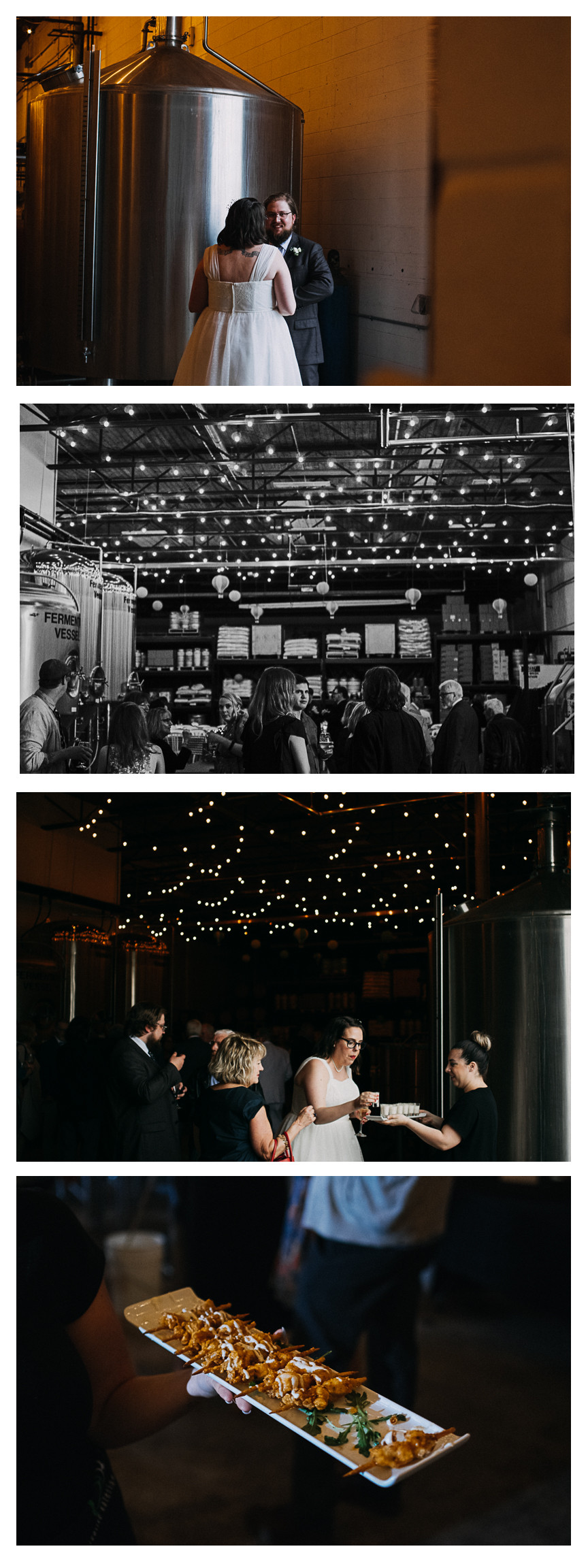 brewery wedding reception distillery craft beer venue