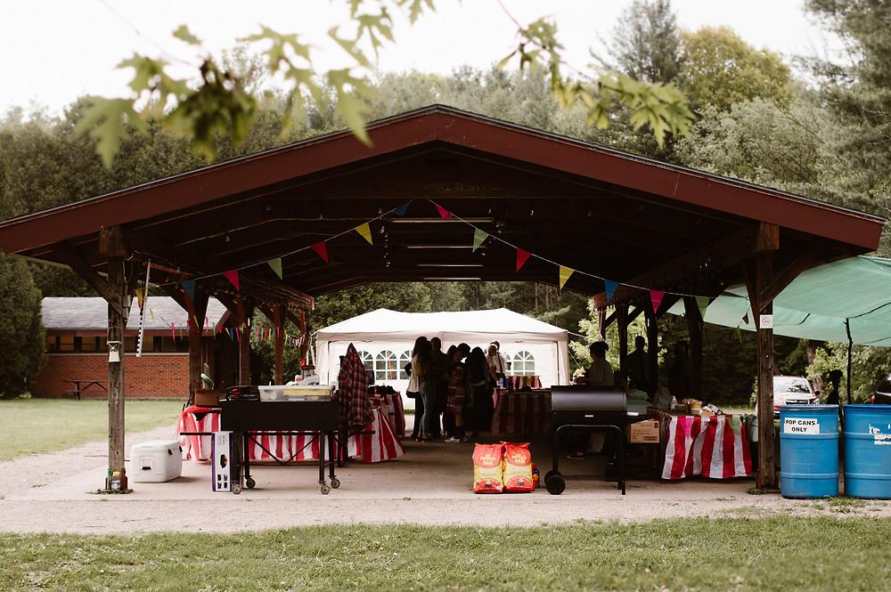 springwater conservation area wedding in aylmer ontario