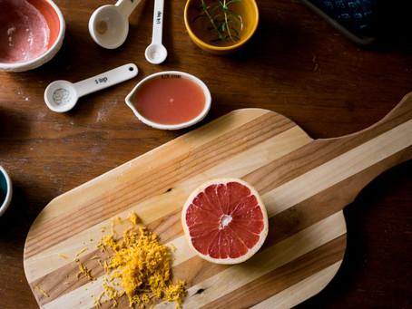 Recipe: Grapefruit Rosemary Scones