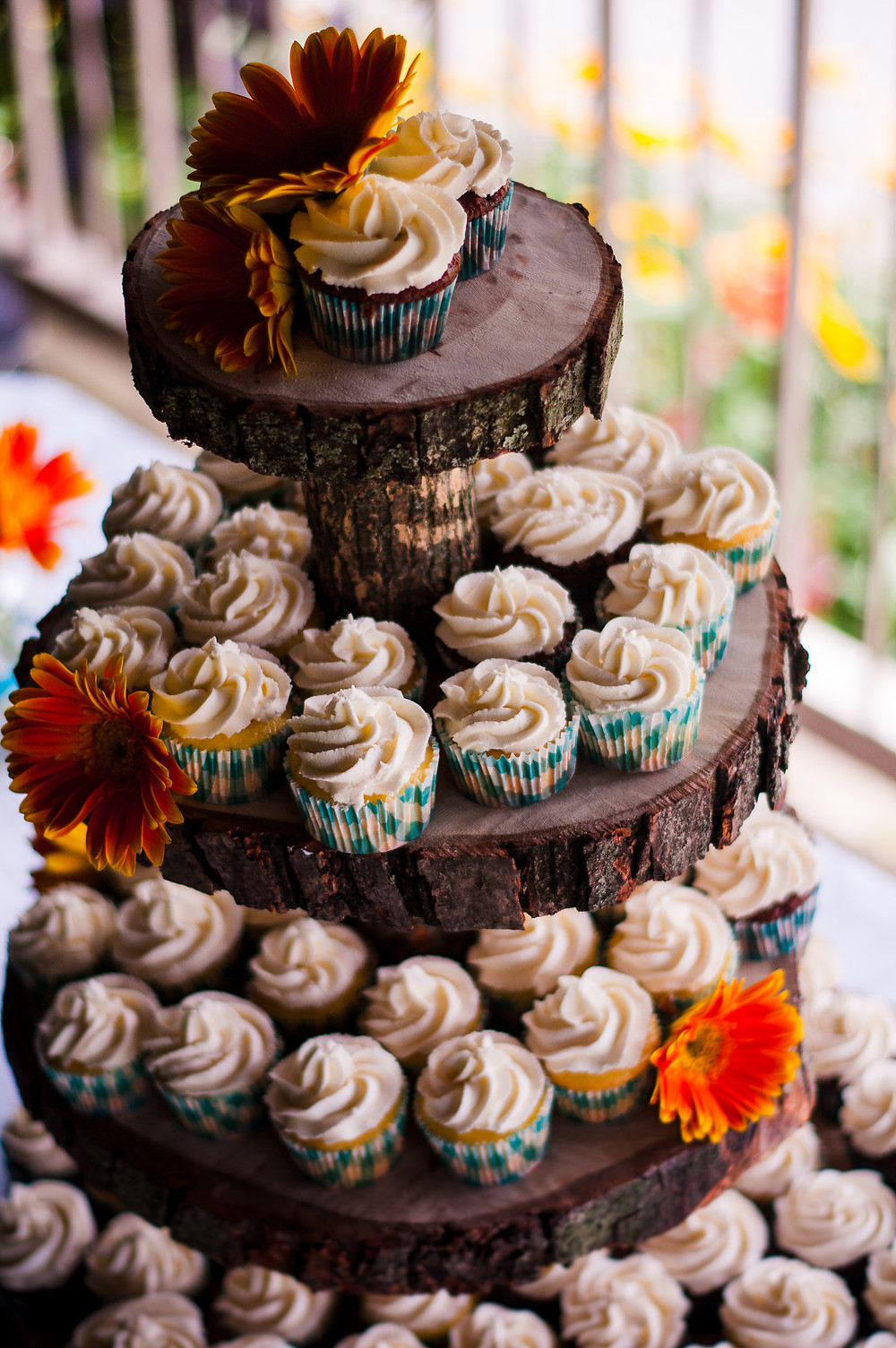 home made wedding reception cupcakes