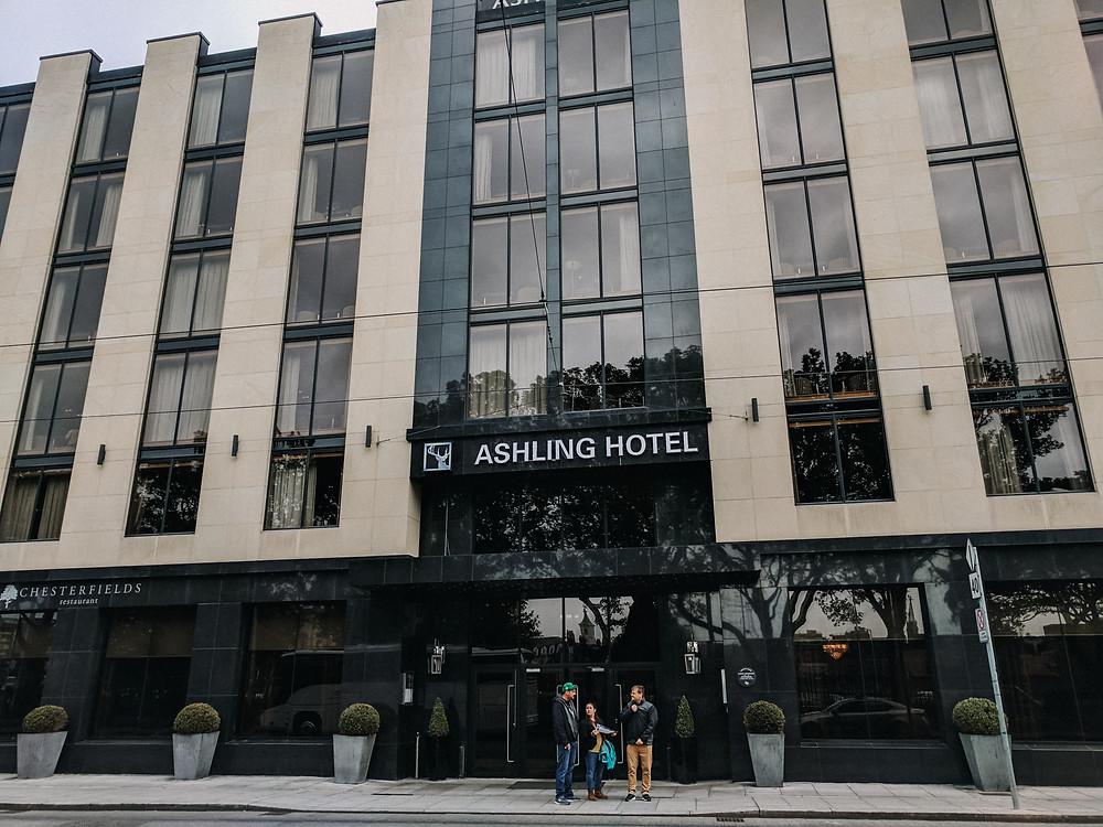 ashling hotel in dublin, ireland