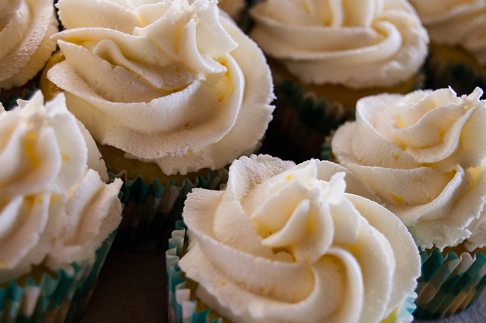 home made wedding cupcakes