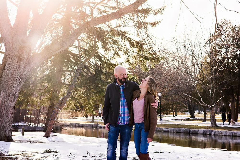victoria park family photos winter
