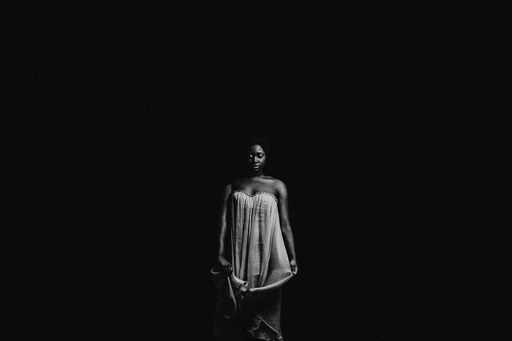black and white dramatic portraits