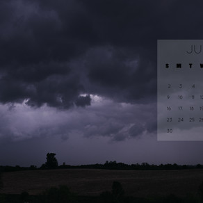 June 2019 Background | Free iPhone & Desktop Wallpaper Download