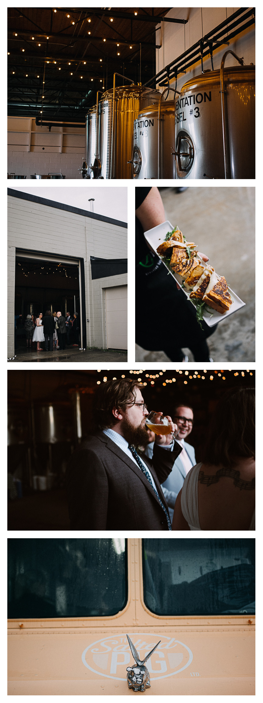 the salted pig food truck wedding catering