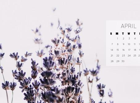 April 2019 Background | Free iPhone & Desktop Wallpaper Download