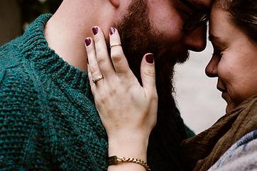 romantic engagement photos guelph