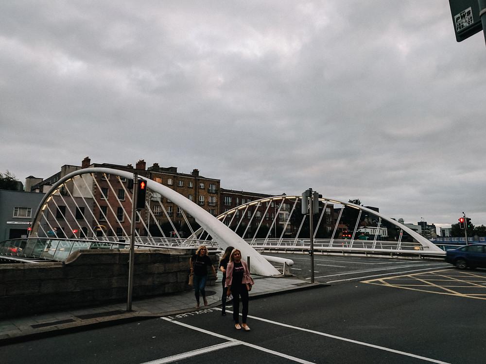 Milennium bridge, dublin