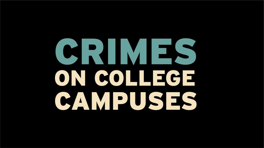 Crimes On College Campuses Motion Graphic