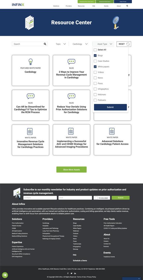 Provider Page Asset Type Filter2 - Deskt