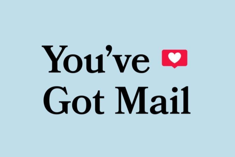 You've Got Mail Movie Title Design