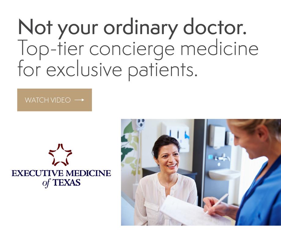 Executive Medicine of Texas Ads