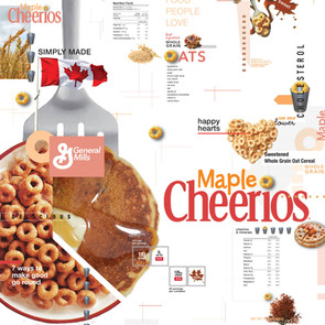 Cereal Packaging and Poster