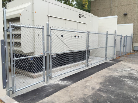 Hennepin County Forensic Building-FENCING