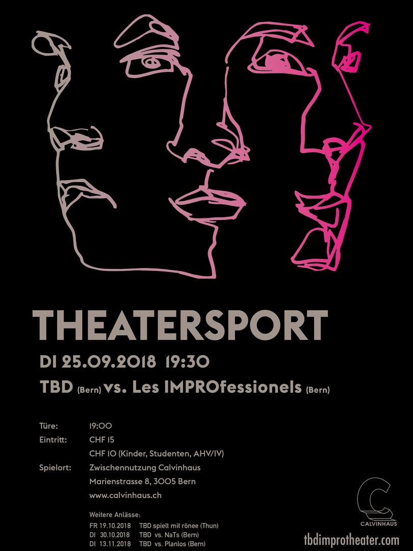 TBD Improtheater im Calvinhaus Herbst 2018