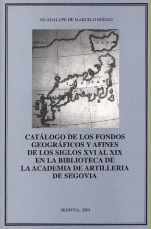 Catálogo de los Fondos geográficos..