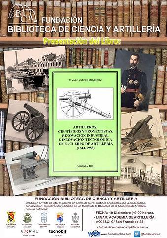 CARTEL PRESENTACIÓN LIBRO ÁLVARO VALDÉS