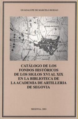 Catálogo de los Fondos históricos...