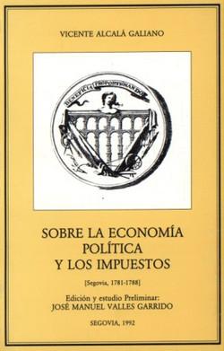 Sobre la economía política...
