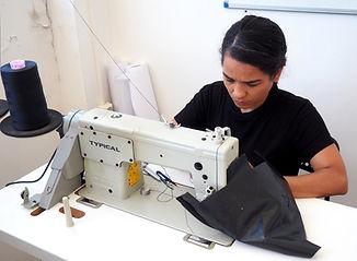 Shafi sewing.JPG
