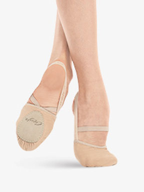 Capezio Adult Pirouette II Canvas Lyrical Shoes