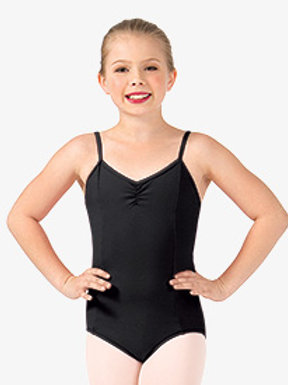 Ballet II - Girls Pinch Front Camisole Leotard in Lavender