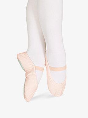 """Child Sansha """"Star Split"""" Canvas Split-Sole Ballet Shoes"""