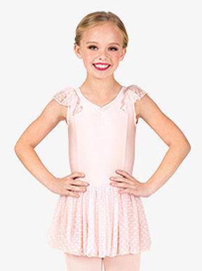 Pre-Ballet/Ballet Tap Combo - Theatricals Girls Flutter Sleeve Ballet Dress