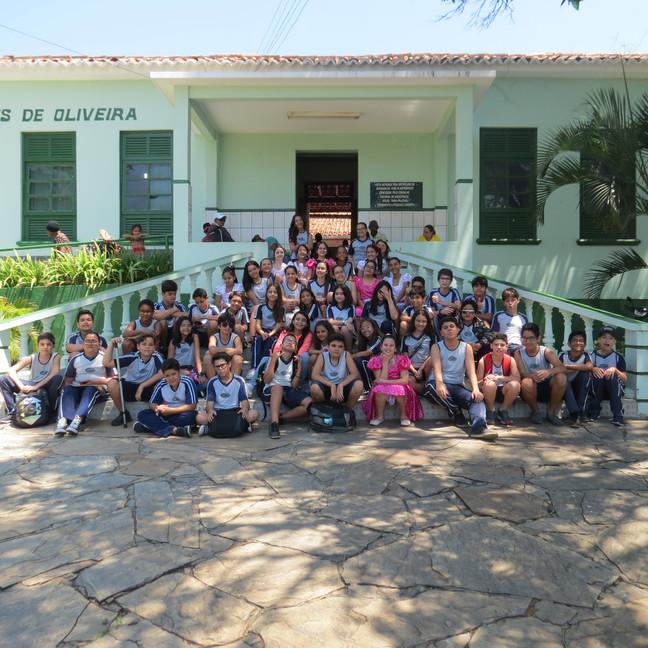 Visita do 6º ano da COOPEC à Associação das Senhoras de Caridade