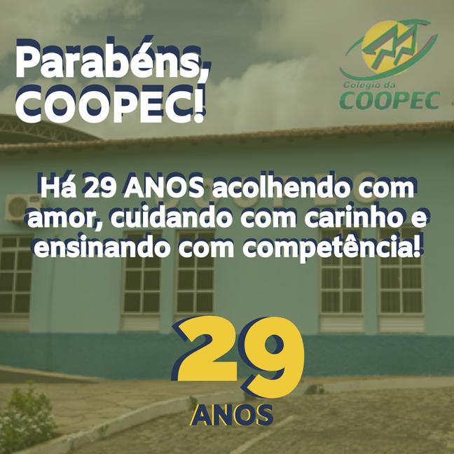 29 Anos de COOPEC!