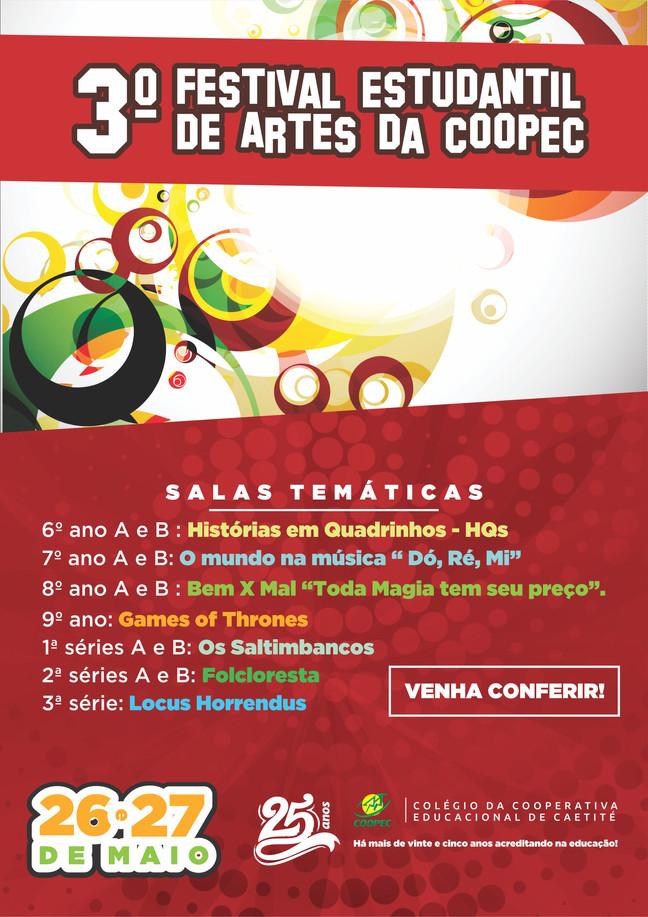 3° Festival Estudantil de Artes da COOPEC