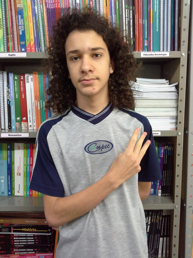 Parabéns, Carlos Eduardo Nunes!