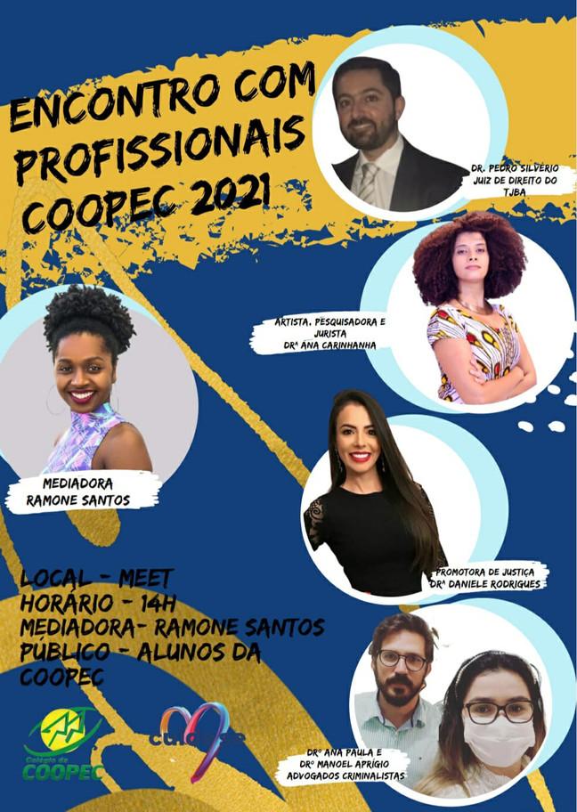 Encontro com profissionais COOPEC 2021