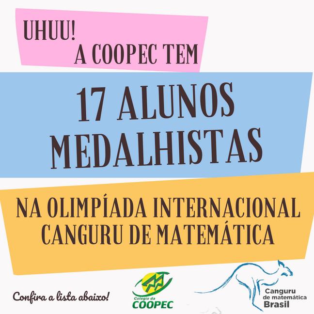 17 Alunos Medalhistas
