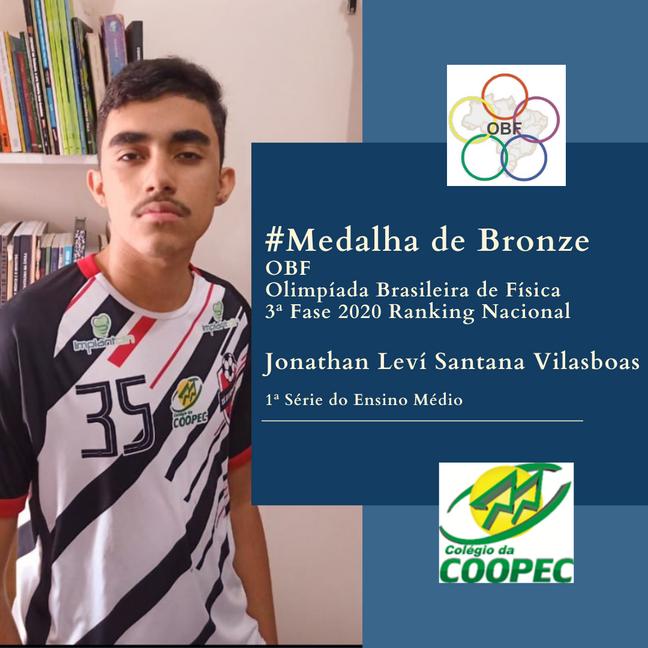 Medalha de Bronze OBF