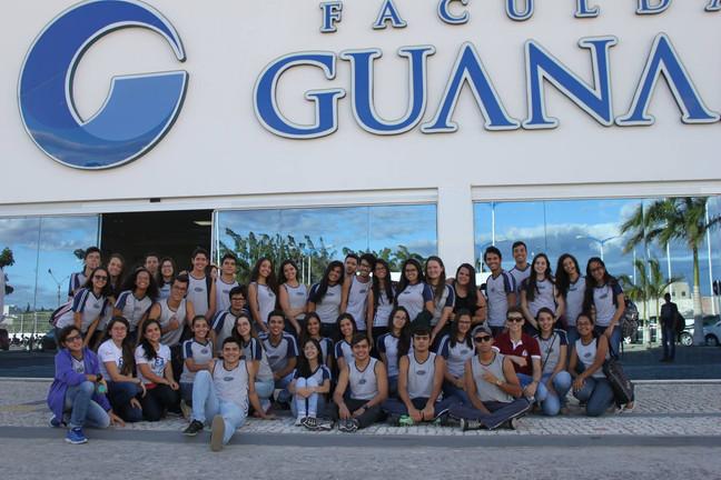 Visita ao campus da Faculdade de Guanambi