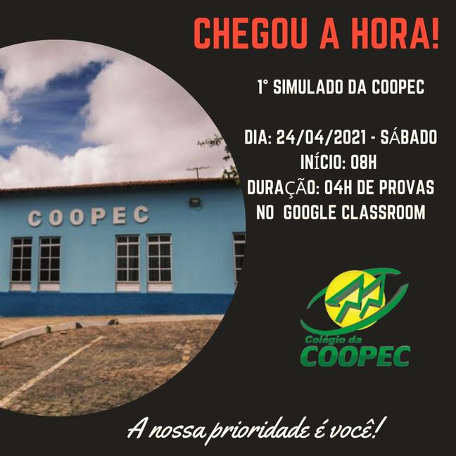 1º Simulado da COOPEC