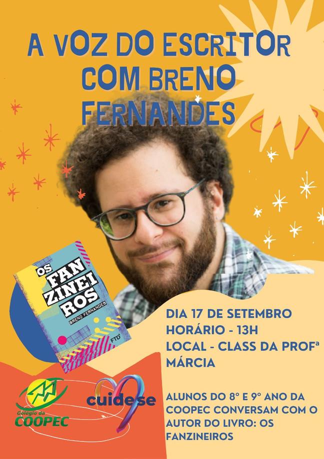 A voz do escritor com Breno Fernandes