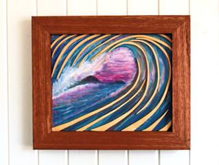 Wooden wall Art 3