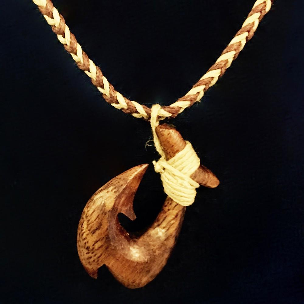 Makau-Koa (Fish Hook Necklace)
