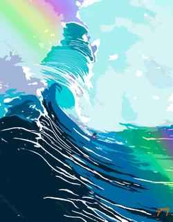 FUN WAVE (Print)