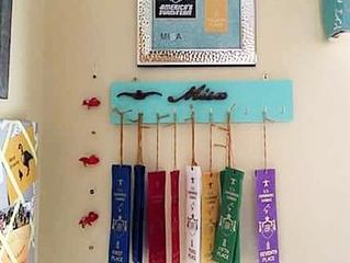 Swim Ribbon Organizer