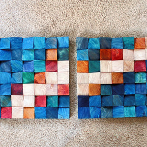 Wooden Wall Art 1-2