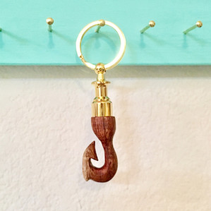 Makau-Curly Koa Key Ring